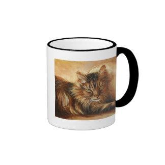 0005 Cat on Pillow Mug