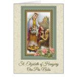 0031 St. Elizabeth of Hungary Greeting Card prayer