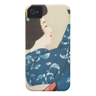 100 Figures of Beauties Wearing Takasago Kimonos iPhone 4 Case-Mate Case