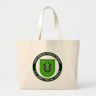 10th Special Forces Group Jumbo Tote Bag