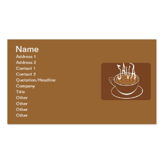 1285033523_Vector_Clipart Java typography coffee Pack Of Standard Business Cards