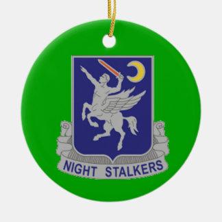 160th Special Operations Regiment Round Ceramic Decoration
