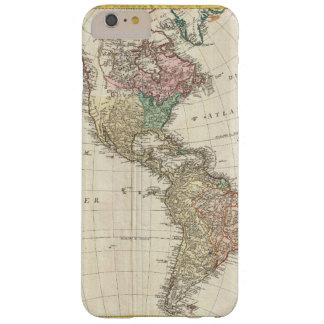 1796 Mannert Map of North and South America Barely There iPhone 6 Plus Case
