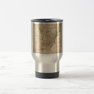 1809 Map of the United States of North America Stainless Steel Travel Mug