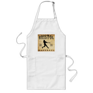 1891 Bristol Connecticut Baseball Long Apron