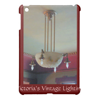 1900s Craftsman House light fixture floral iPad Mini Cases