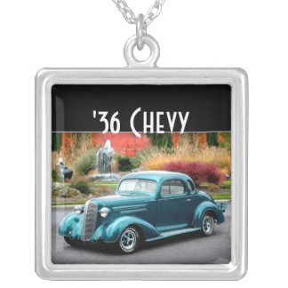 1936 Chevy Chevrolet Coupe Hot Rod Necklace