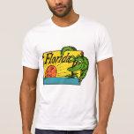 1950s Florida Alligator Design Shirt