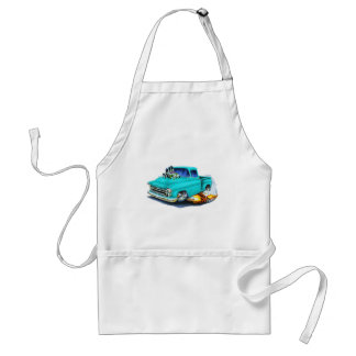 1957 Chevy Pickup Turquoise Standard Apron