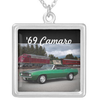 1969 Chevy Camaro Muscle Car Necklace