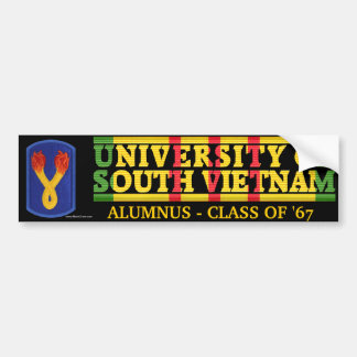 196th LIB - U of South Vietnam Alumnus Sticker Bumper Sticker