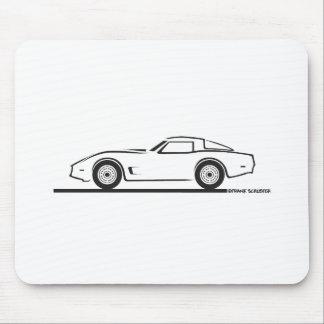 1980-82 Chevrolet Corvette Mouse Pad