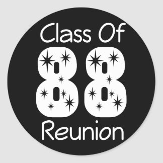1988 Class Reunion Stickers
