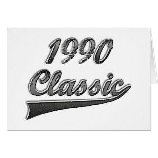 1990 Classic Greeting Card