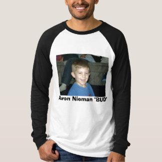 """1-1-2008-154, Aaron Nieman """"BUD"""" T-shirt"""
