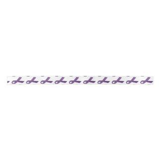 "1.5"" Wide Satin Pancreatic Cancer Awareness Ribbon Satin Ribbon"