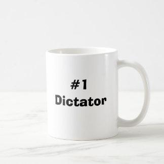 #1 Dictator Basic White Mug