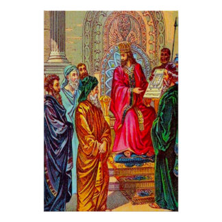1 Kings 5 Solomon Plans the House of God Poster
