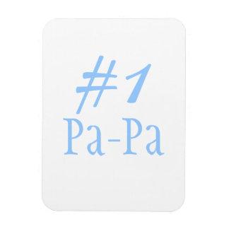 #1 Pa-Pa Rectangular Photo Magnet