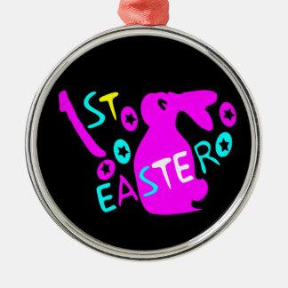 1st Easter Premium Round Ornament