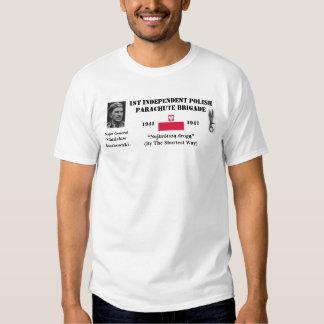 1st Independent Parachute Brigade (Poland) Tee Shirts
