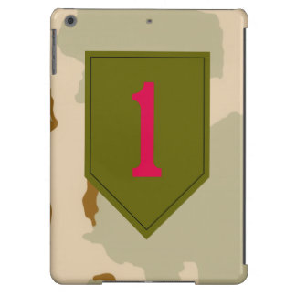 """1st Infantry Division """"The Big Red One"""" Camo iPad Air Case"""