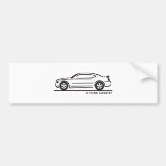 2010  New Dodge Charger Bumper Sticker