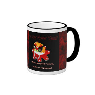 2012 Chinese New Year of the Dragon Vietnamese Ringer Mug