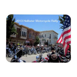 2013 Hollister Motorcycle Rally Rectangular Photo Magnet