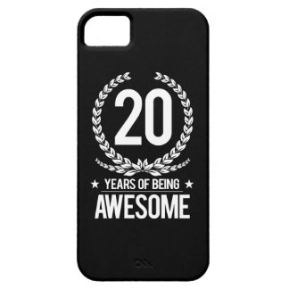 20th Birthday (20 Years Of Being Awesome) iPhone 5 Cover
