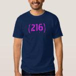 216 Area Code Shirt Cleveland