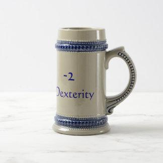 -2 , Dexterity Beer Steins
