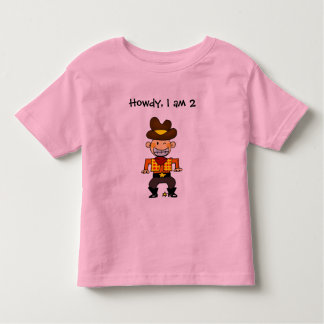 2 year old cowboy shirt