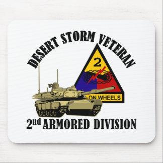 2nd AD Desert Storm Vet Mouse Pad