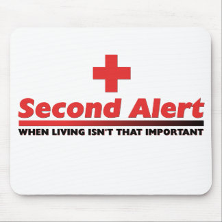 2nd Alert Mouse Pad