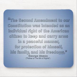 2nd Amendment - George Mason Mouse Pad