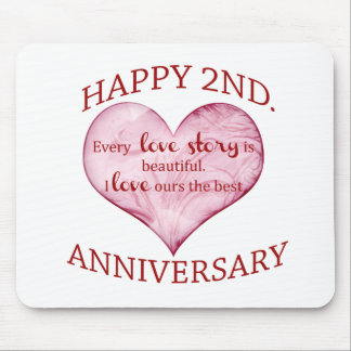 2nd. Anniversary Mouse Pad