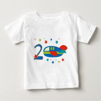 2nd Birthday Airplane Tee Shirt