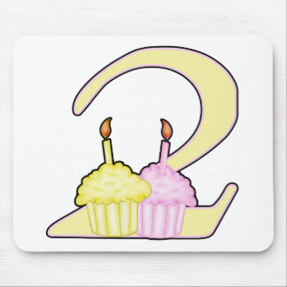 2nd Birthday Mouse Pad