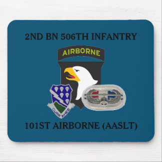 2ND BN 506TH INFANTRY 101ST AIRBORNE MOUSEPAD