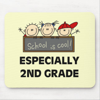 2nd Grade School is Cool Tshirts and Gifts Mouse Pad
