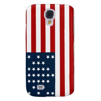 33 Star Fort Sumter American Civil War Flag Galaxy S4 Case