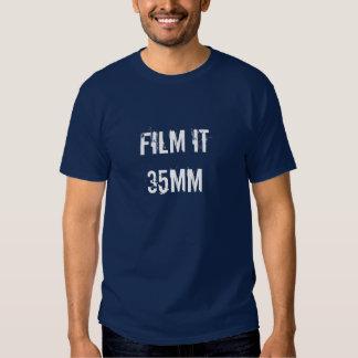 35mm film t-shirts