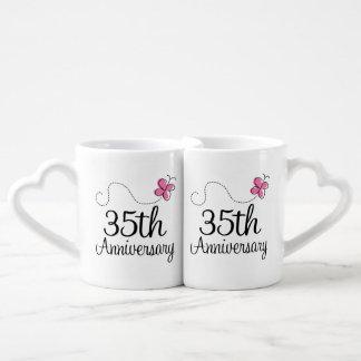 35th Anniversary Couples Mugs Lovers Mug