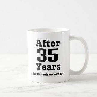 35th Anniversary (Funny) Basic White Mug