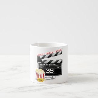 35th Birthday Hollywood Movie Party Espresso Mug