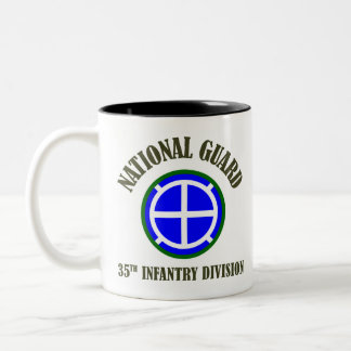 35th Infantry Div | National Guard Two-Tone Mug