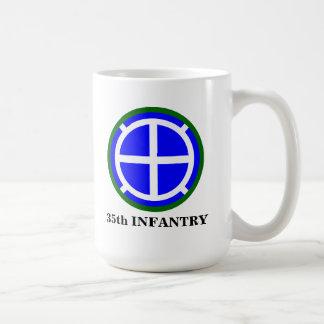 """35th Infantry Division """"Santa Fe"""" Basic White Mug"""
