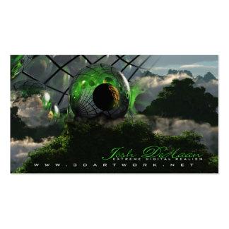 3D Artwork Business Cards v3