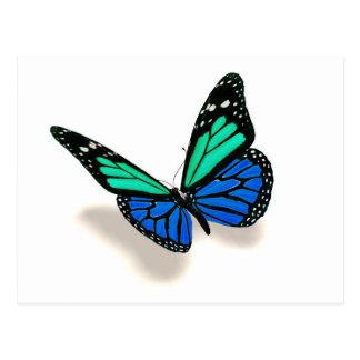 3D butterfly Postcard